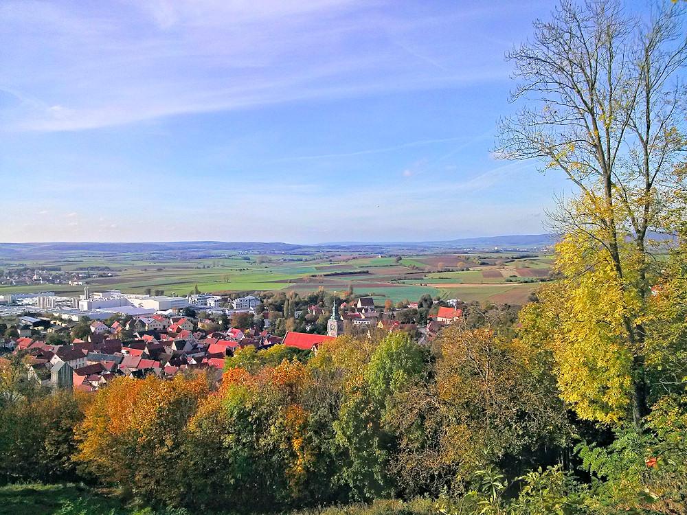Aussicht von der Burg Königsberg