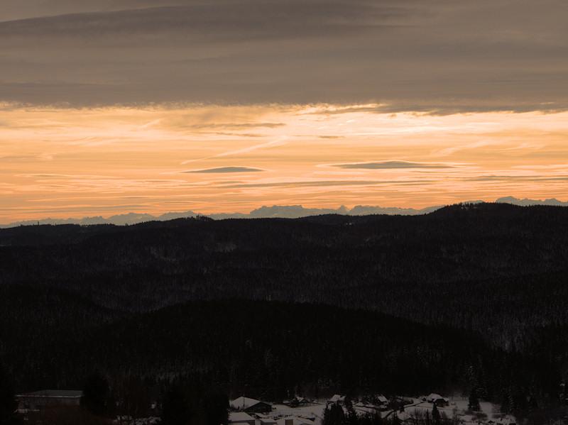 Blick auf die Schweizer Bergwelt