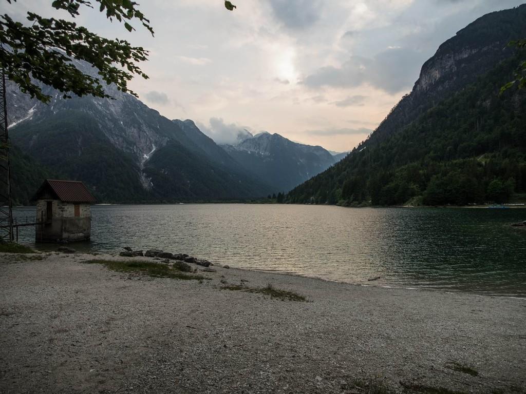 Abends am Lago del Predil / Raibler See