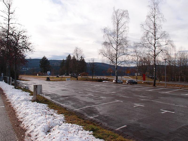 Blick vom Stellplatz Schluchsee