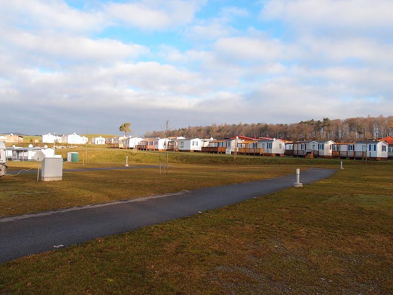 Mobilheime auf dem CP Orsingen