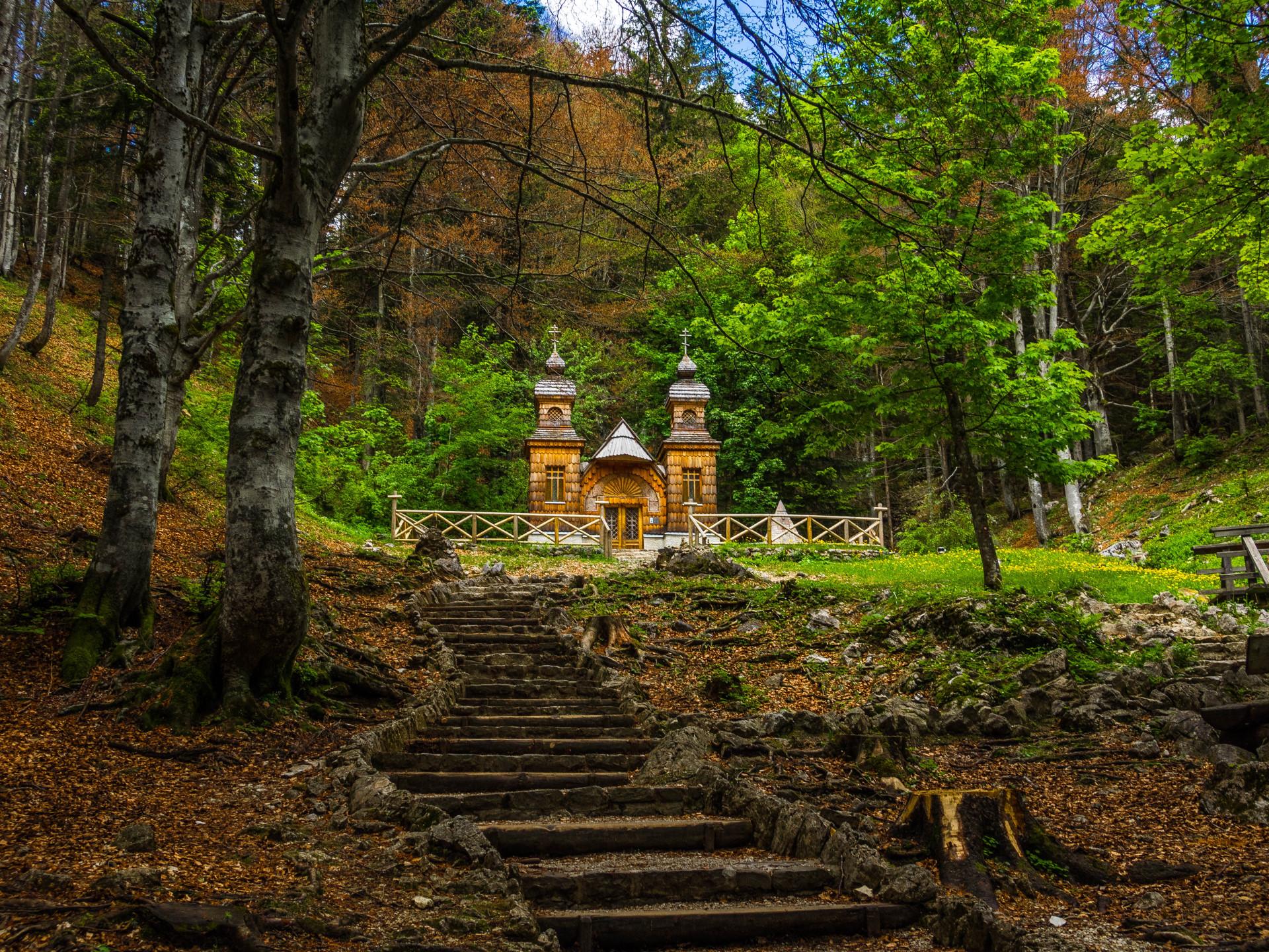 Russische Kapelle am Vrsic-Pass