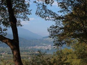 Blick zum Caldonazzosee