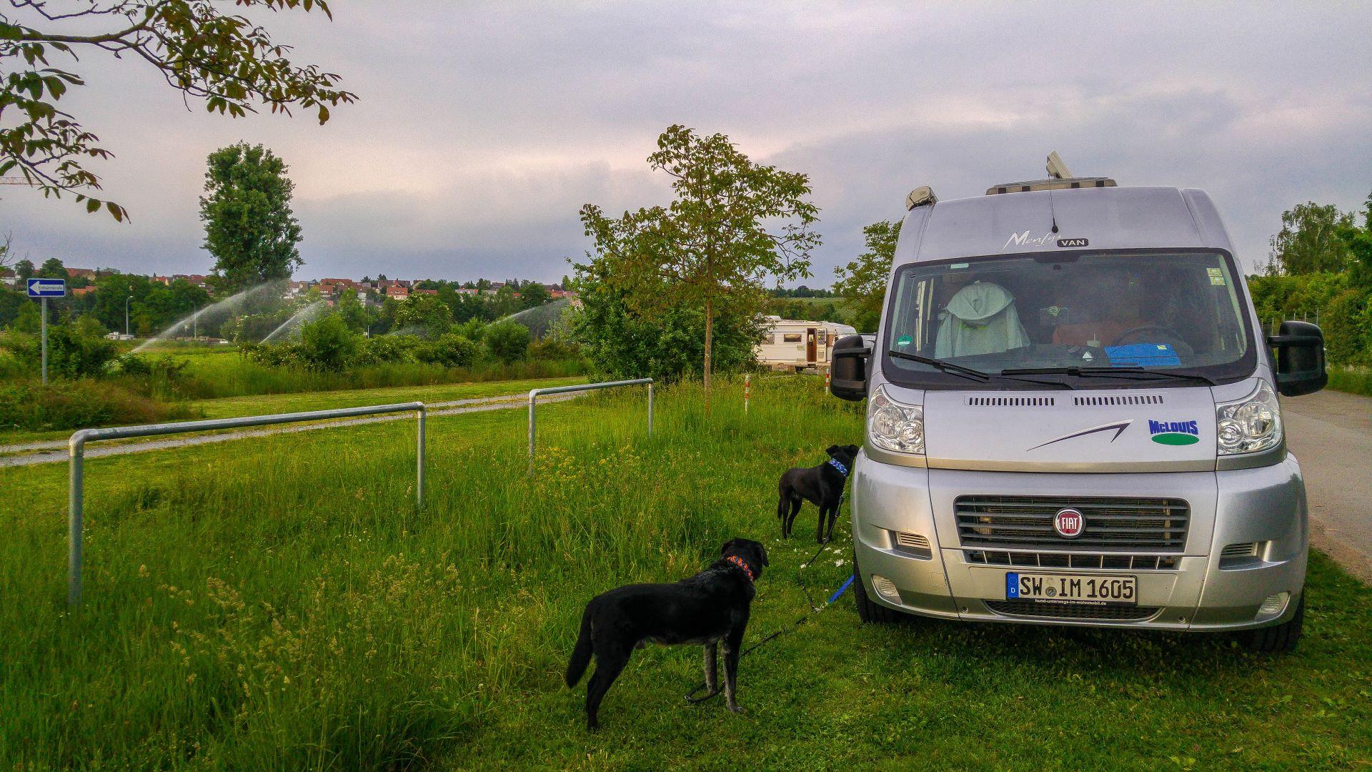 Wohnmobilstellplatz in Lauffen am Neckar