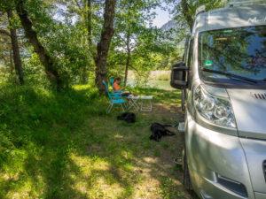 Lauschiges Plätzchen an den 3 Seen von Rochebrune