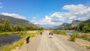 Spaziergang um die drei Seen