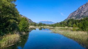 Bei den drei Seen von Rochebrune