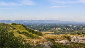 Aussichtspunkt hoch über Cavaillon