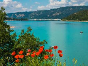 Blick auf den Lac-de-Sainte-Croix