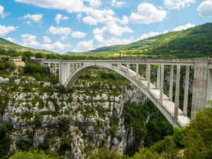 Brücke Pont de l'Artuby