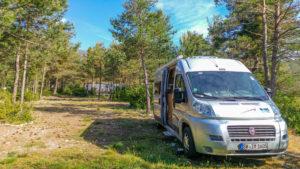 Stellplatz auf Castellane Camping Cars