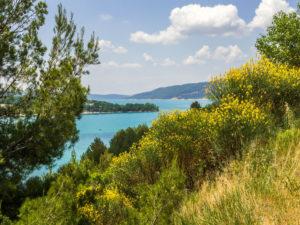 Blick auf den Lac-de-Saint-Croix