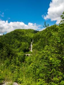 Wasserfall in der Gorge de la Saine