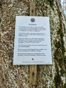 Information über die Eselsburg