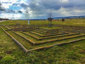 Labyrinth im Römerpark