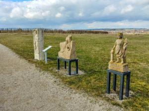 Skulpturen im Römerpark