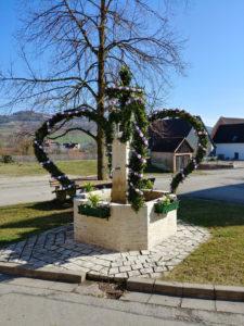 Osterbrunnen in Aufkirchen