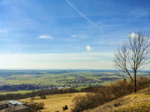 Ausblick vom Hesselberg