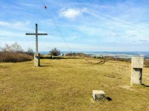 Gipfelkreuz am Hesselberg