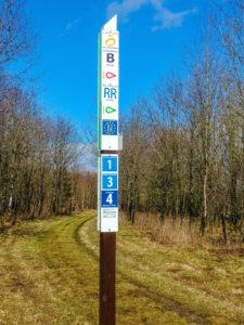 Viele Wanderwege in der Rhön