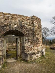 Bergfried Ruine Osterburg