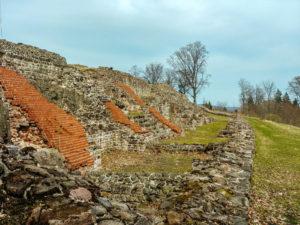 Sanierungsarbeiten an der Ruine Osterburg
