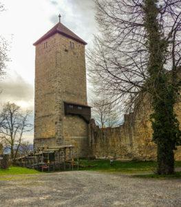 Bergfried Ruine Lichtenburg