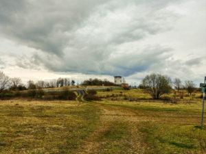 Beobachtungsturm am ehemaligen Grenzübergang Eußenhausen - Henneberg