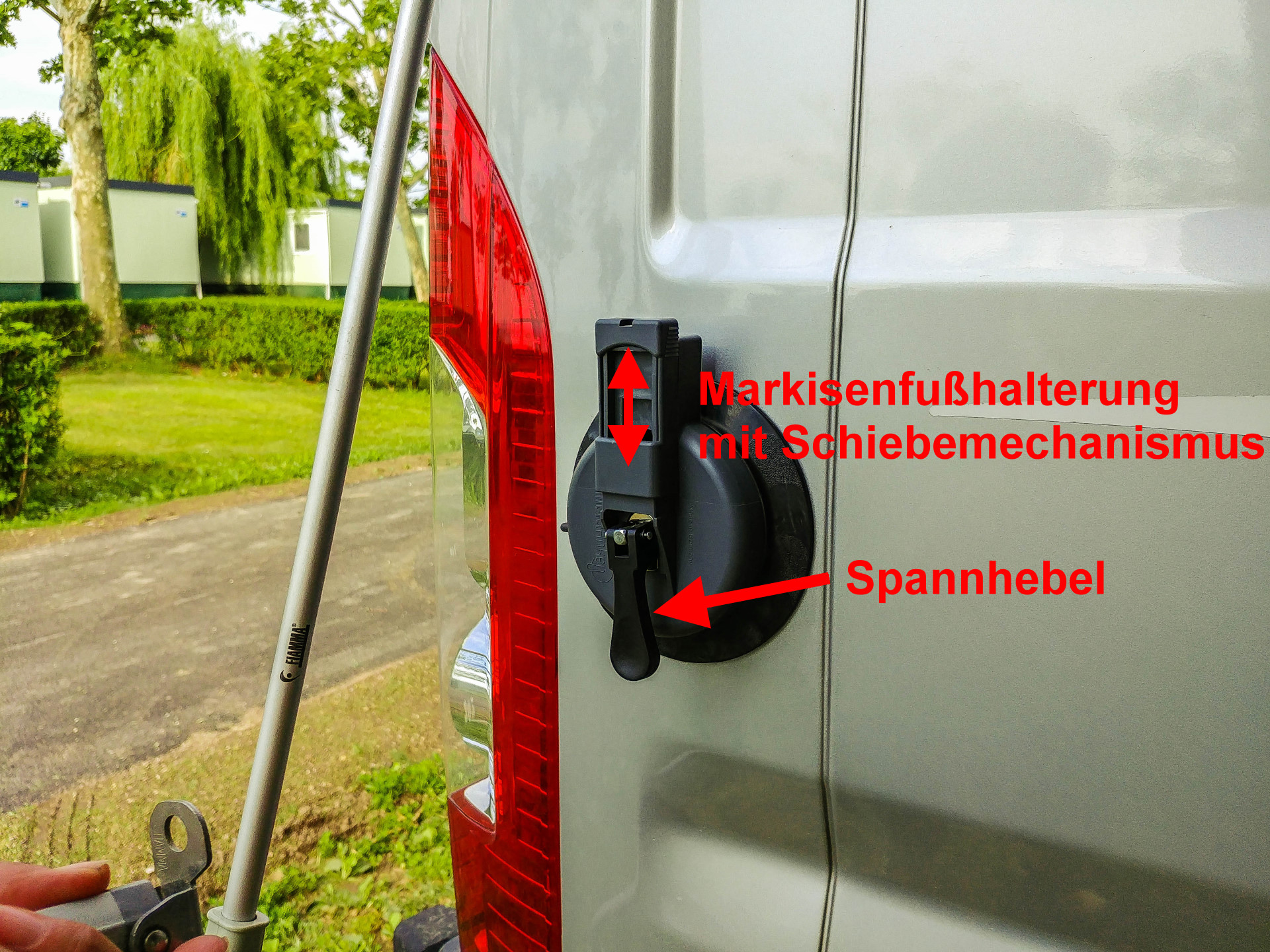multianker2.0 Montage am Wohnmobil