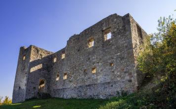 Hauptgebäude der Ruine Bramberg