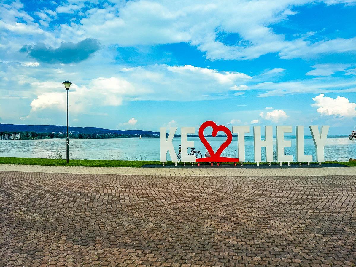 Am Hafen von Keszthely