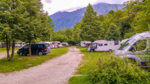 Camping in Slowenien - Stellplätze Kamp Koren