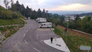 Stellplätze in Pivka