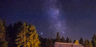 Camp Bystrina - Milchstraße