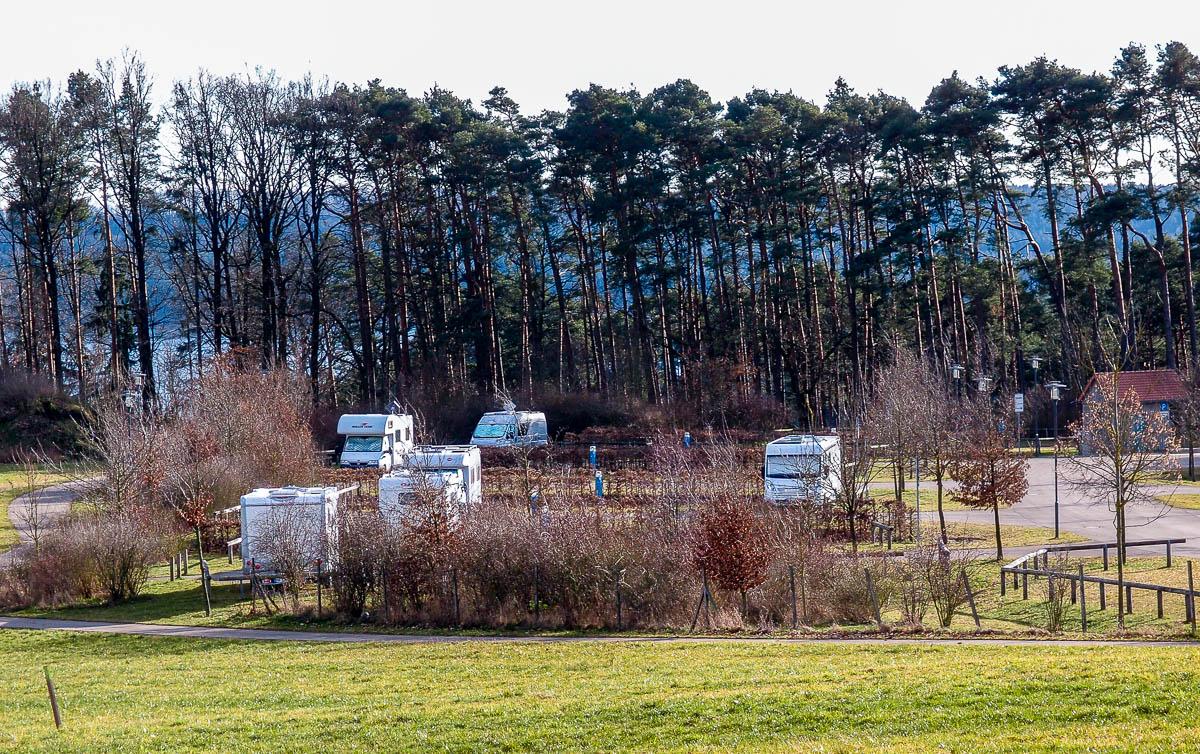 Wohnmobilstellplatz Igelsbachsee Spalt Enderndorf