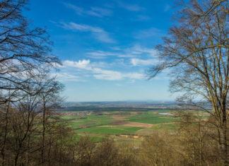 Wohnmobil Tour Steigerwald - Aussicht Schwanberg