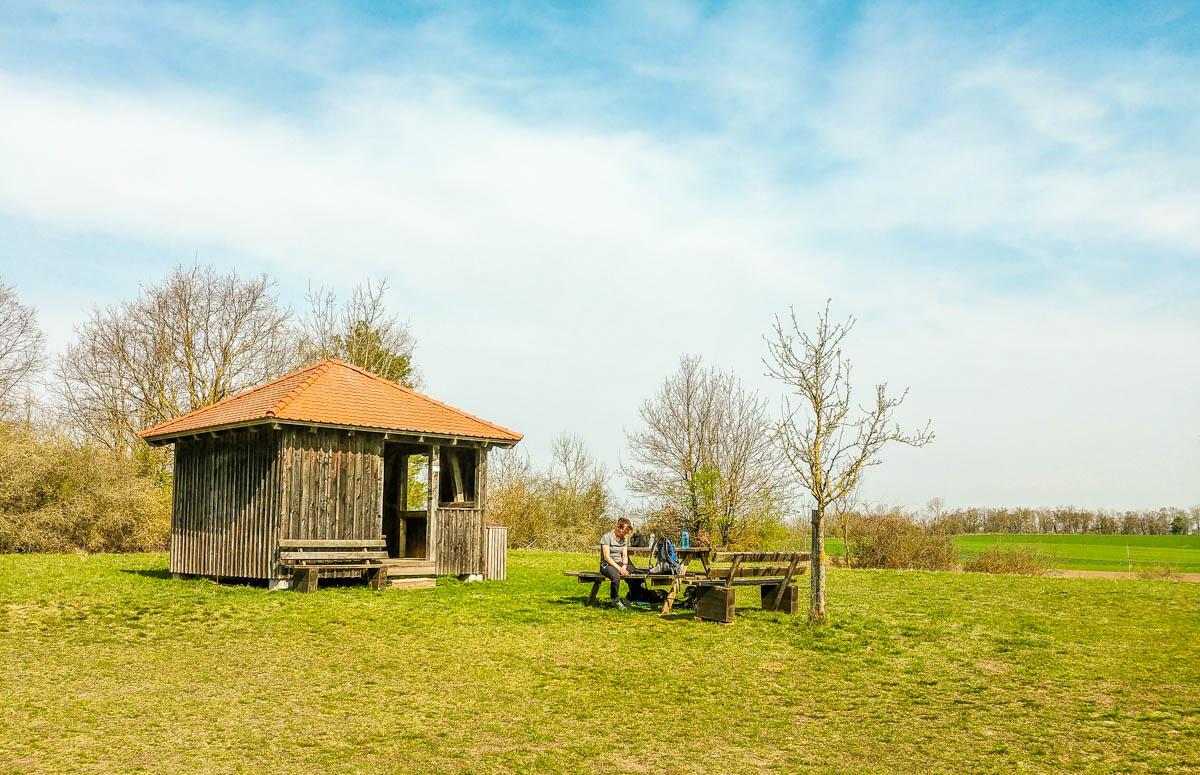 Rastplatz Stöckig mit Schutzhütte